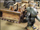 SF3D Shlepper rear dozer blade with Fireball suit